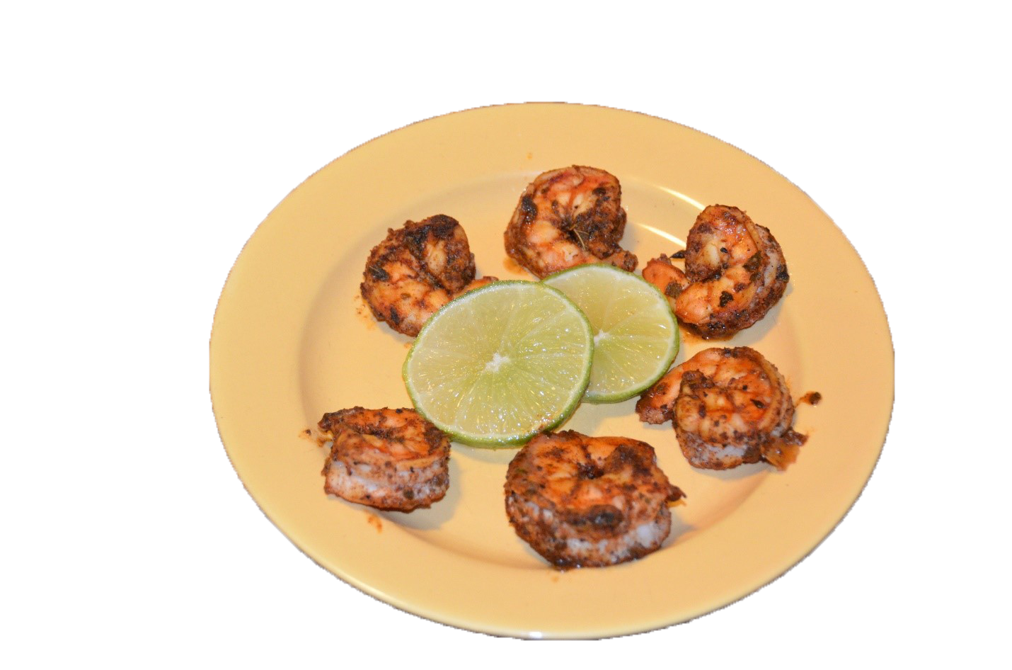Ancho Chile Lime Shrimp-Cooked