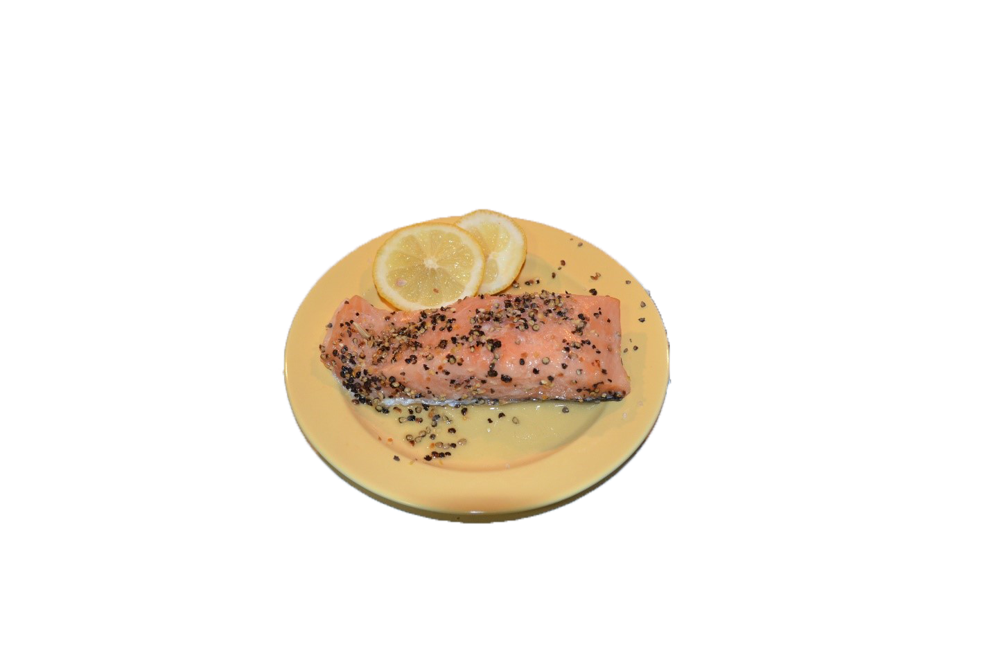 Smoked Lemon Pepper Salmon